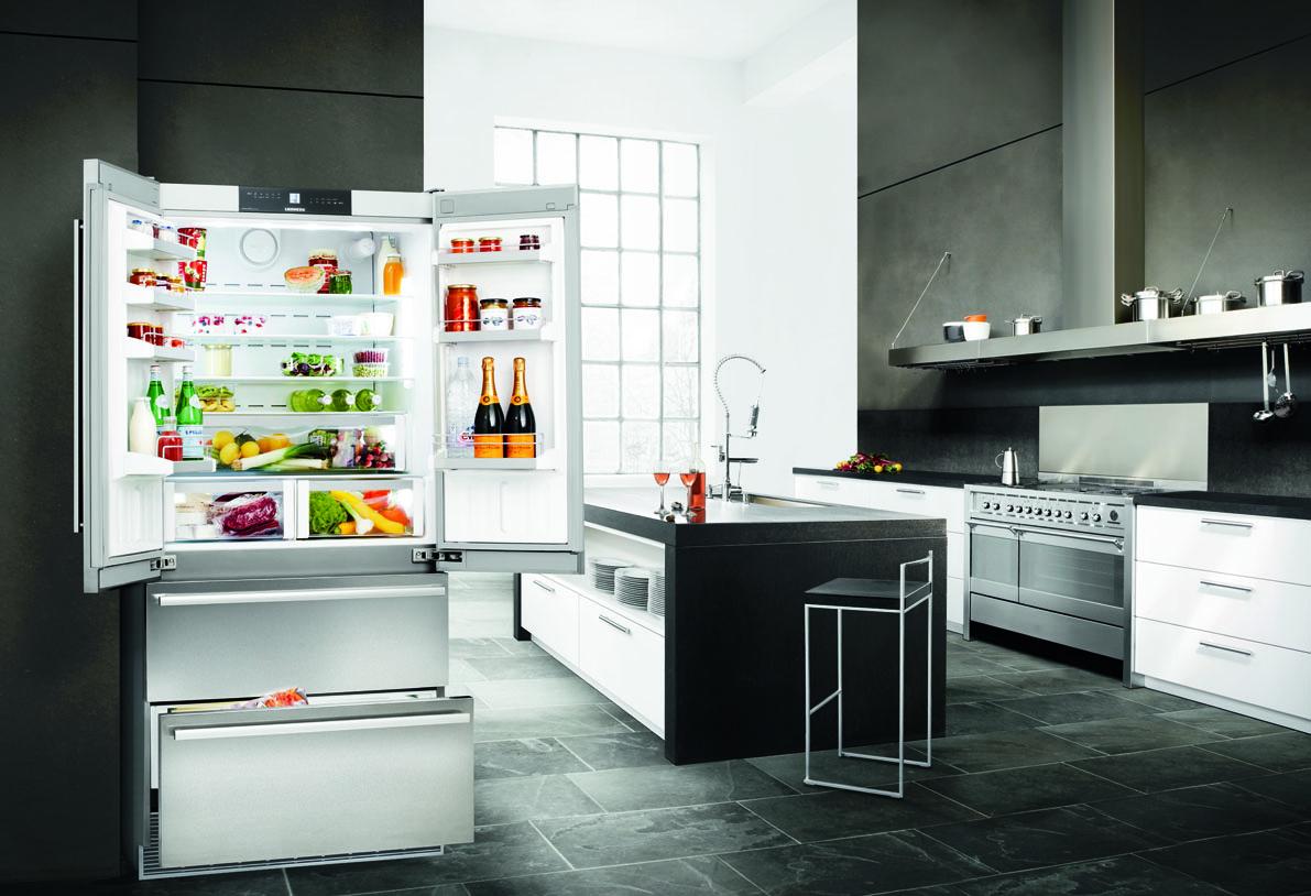 Amerikanischer Kühlschrank Amerikanische Kühlschränke V2a Liebherr Side By  Side. Die Großen Frische Zentren