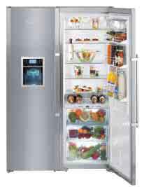 Amerikanische kühlschränke liebherr  Liebherr Side-by-Side SBSES 8283 Liebherr SBSES 8283 Premium Plus ...