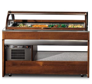 REFRIGERATED SALAD BAR UNIT - Music Line