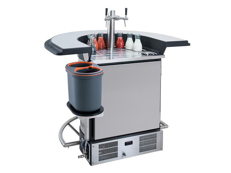 Bomann Kühlschrank Wasserablauf : Weinkühltheke weintheke rheingau 22 weintheke rheingau 1
