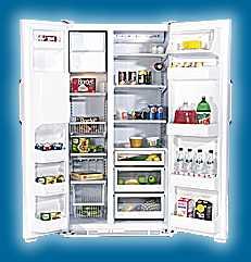 fleisch offen im kühlschrank
