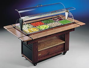 REFRIGERATED CLOSED SALAD BAR UNIT - Salad Bar Line