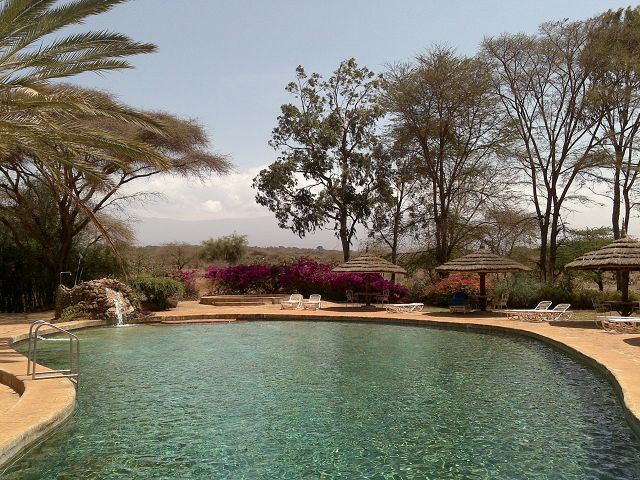 Amboseli Sopa Amboseli Sopa Lodge Pool