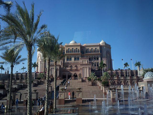 Abu Dhabi Emiratres Palace Hotel 7 Sterne Abu Dhabi Ethiad Towers