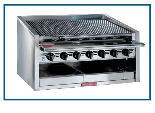 800 C Grad HERD Magikitch´n Steakhausgrill Serie CM Tischmodell