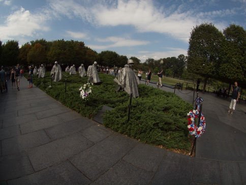 Washington Korean War Veterans Memorial