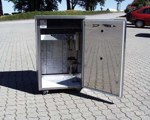 Bomann Kühlschrank Für Bierfass : Bierzapfanlage bt auf rollen bt bierfasskühlschrank bt