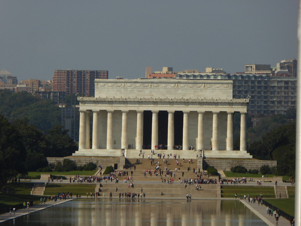 Lincoln Memorial + Lincoln Memorial Reflecting Pool