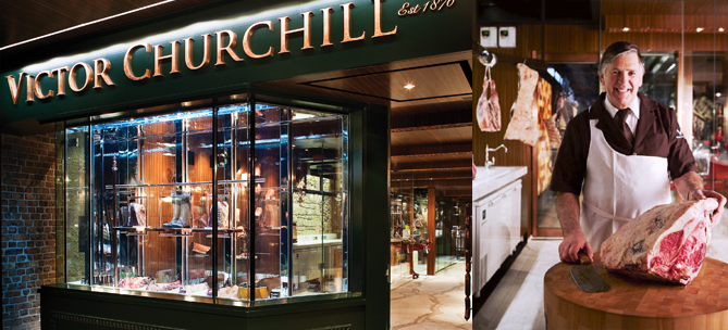 ustralia Design for Victor Churchill Fine Family Butcher's new store in Woollahra, Sydney.