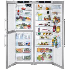 Amerikanische kühlschränke  Amerikanischer Kühlschrank Amerikanische Kühlschränke V2a Liebherr ...