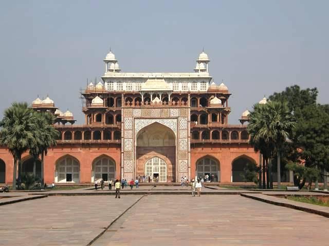 Indien Rajasthan Indien Dehliagra Taj Mahal Sikandra